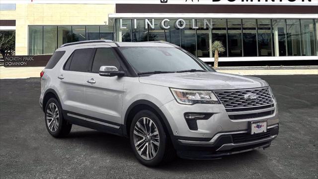2018 Ford Explorer Platinum for sale in San Antonio, TX