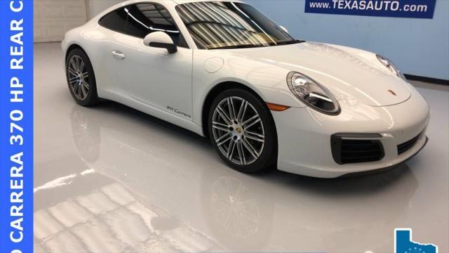 2017 Porsche 911 Carrera for sale in Webster, TX