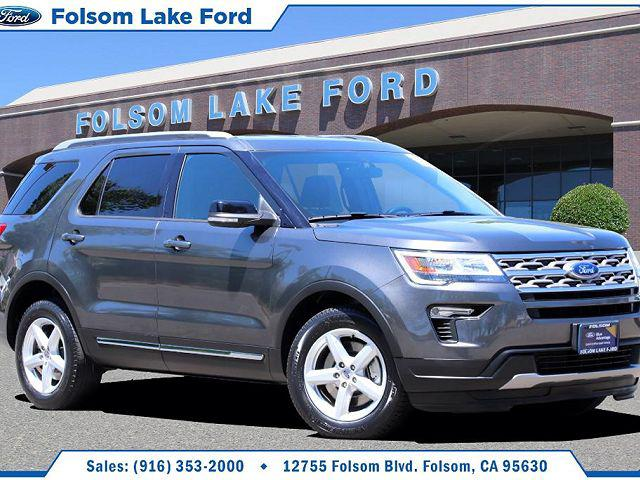 2018 Ford Explorer XLT for sale in Folsom, CA