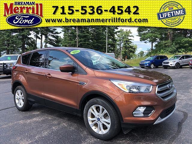 2017 Ford Escape SE for sale in Merrill, WI