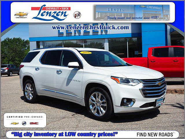 2018 Chevrolet Traverse High Country for sale in Chaska, MN