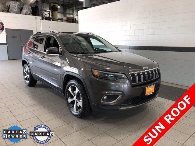 2019 Jeep Cherokee Limited for sale in Lancaster, MA