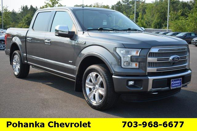 2015 Ford F-150 Platinum for sale in Chantilly, VA
