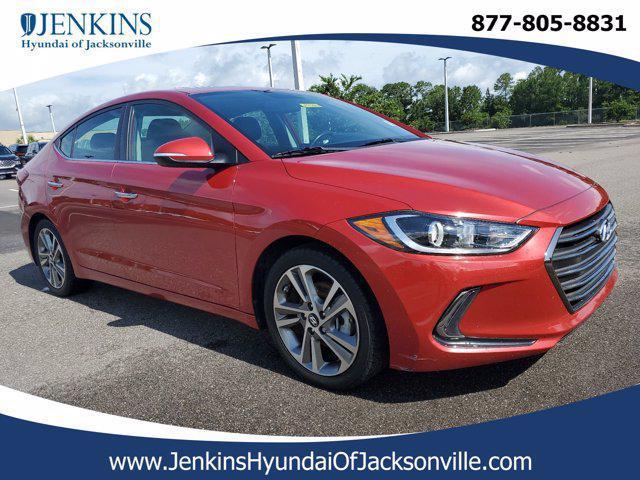 2017 Hyundai Elantra Limited for sale in JACKSONVILLE, FL