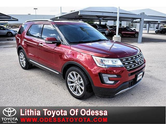 2017 Ford Explorer Limited for sale in Odessa, TX