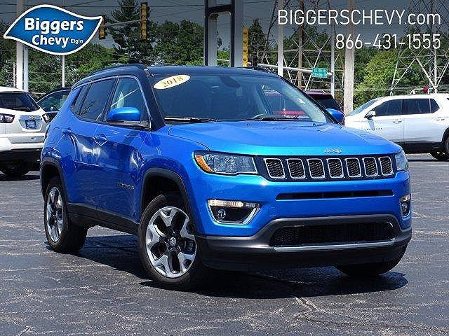 2018 Jeep Compass Limited for sale in Elgin, IL
