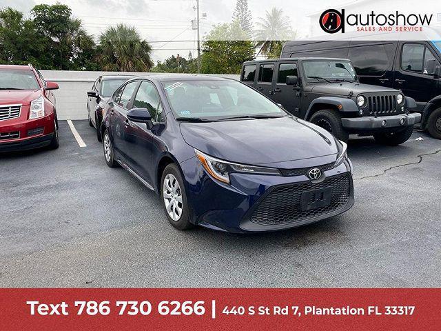 2021 Toyota Corolla LE for sale in Plantation, FL