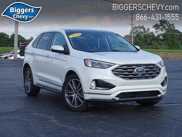 2019 Ford Edge Titanium for sale in Elgin, IL