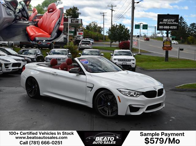 2017 BMW M4 Convertible for sale in Lodonderry, NH
