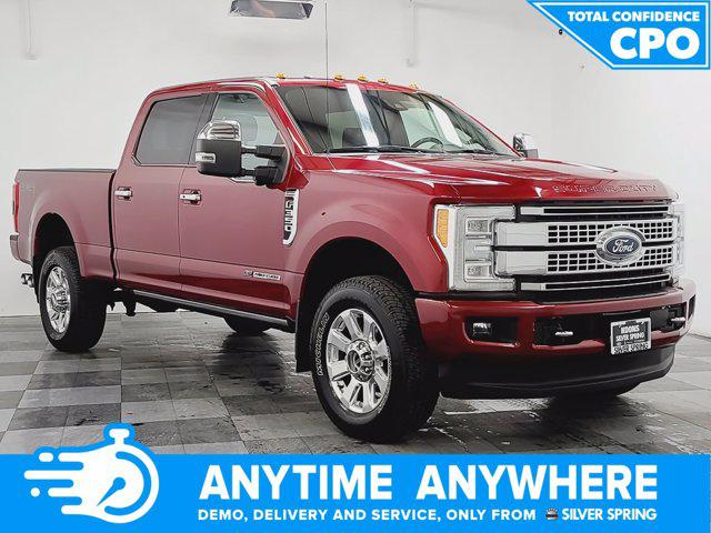 2017 Ford F-350 Platinum for sale in Silver Spring, MD