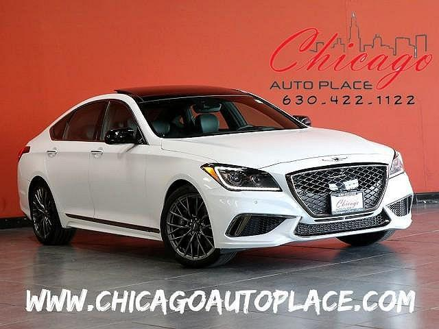 2018 Genesis G80 3.3T Sport for sale in Bensenville, IL