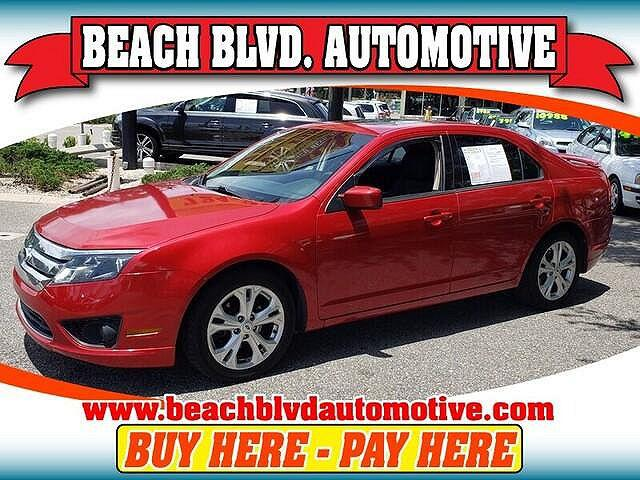 2012 Ford Fusion SE for sale in Jacksonville, FL