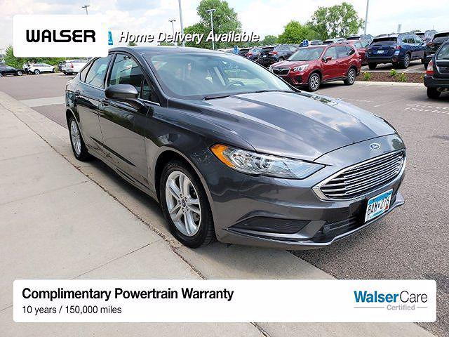2018 Ford Fusion SE for sale in Burnsville, MN