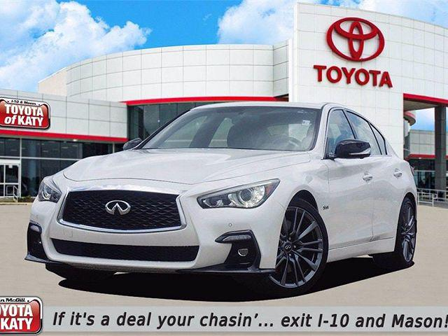 2018 INFINITI Q50 RED SPORT 400 for sale in Katy, TX