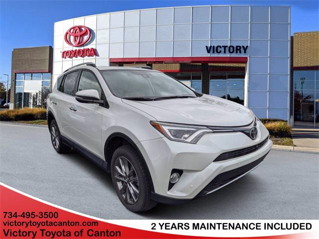 2016 Toyota RAV4 Limited for sale in Canton, MI