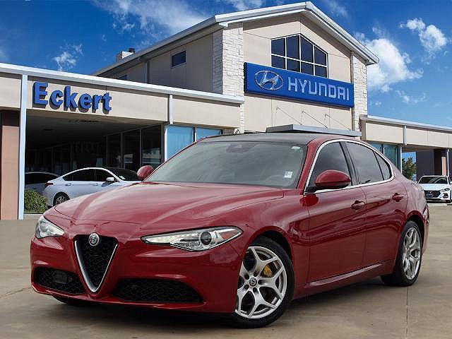 2018 Alfa Romeo Giulia Ti for sale in Denton, TX