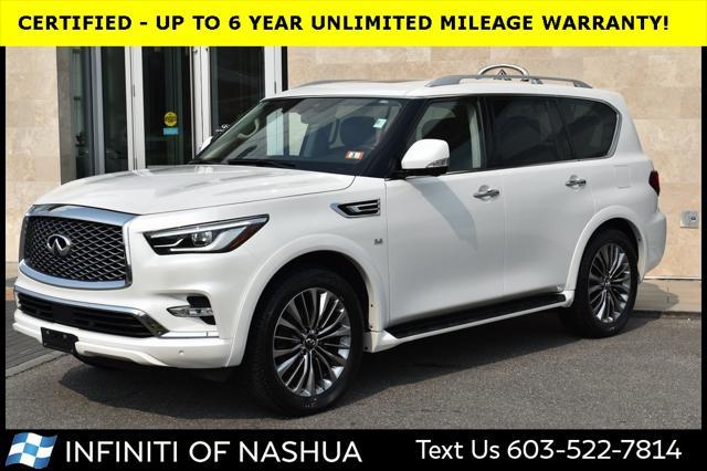 2018 INFINITI QX80 AWD for sale in Nashua, NH