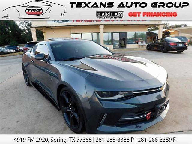 2017 Chevrolet Camaro 1LT for sale in Spring, TX
