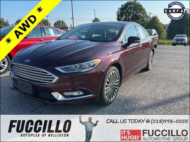 2017 Ford Fusion SE for sale in Nelliston, NY