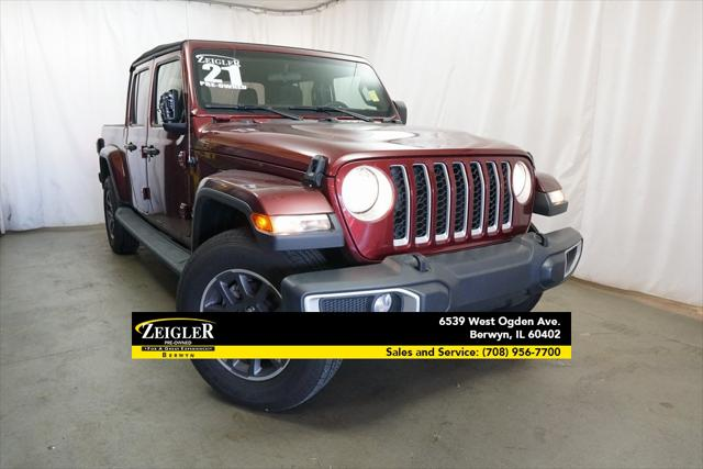 2021 Jeep Gladiator Overland for sale in Schaumburg, IL