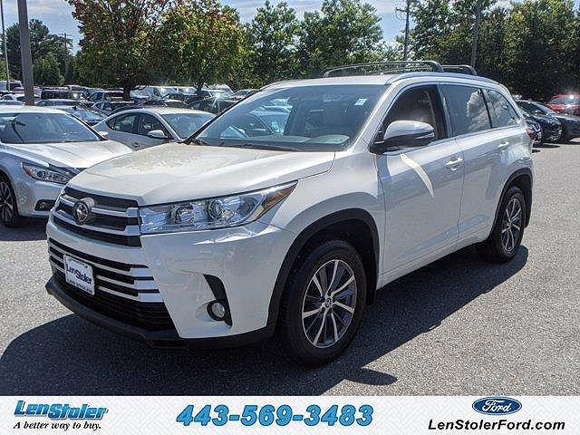 2018 Toyota Highlander XLE for sale in Owings Mills, MD