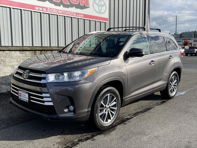 2018 Toyota Highlander XLE for sale in Auburn, WA