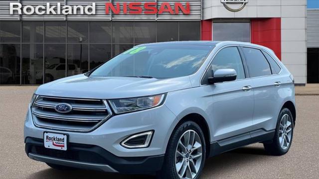 2018 Ford Edge Titanium for sale in Blauvelt, NY