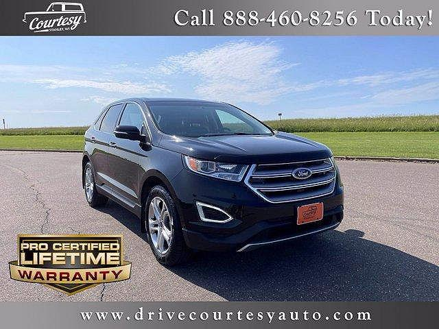 2018 Ford Edge Titanium for sale in Stanley, WI