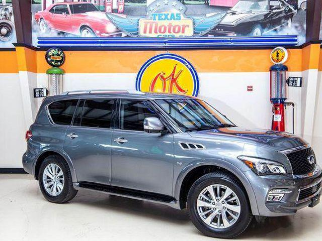 2017 INFINITI QX80 AWD for sale in Addison, TX