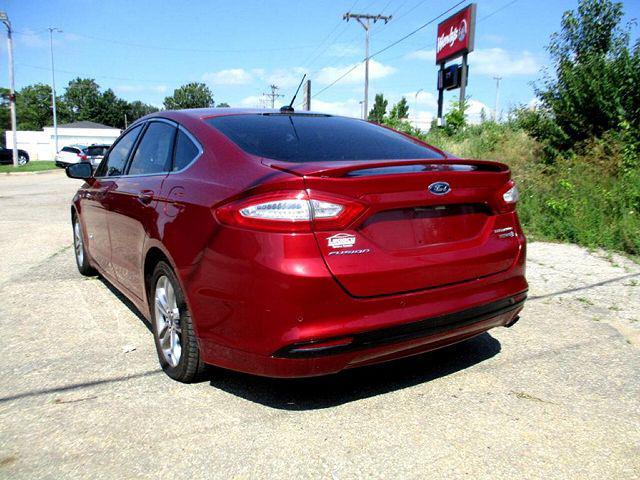 2016 Ford Fusion Titanium Hybrid for sale in Topeka, KS