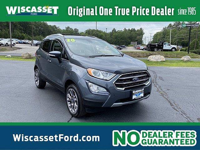 2020 Ford EcoSport Titanium for sale in Wiscasset, ME