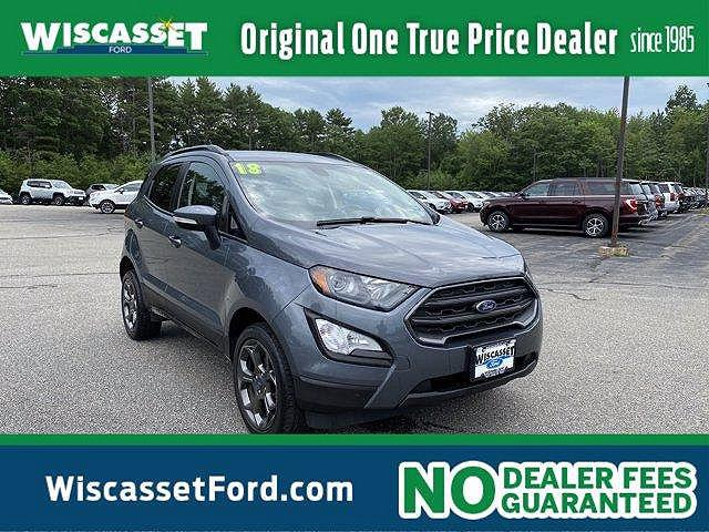 2018 Ford EcoSport SES for sale in Wiscasset, ME