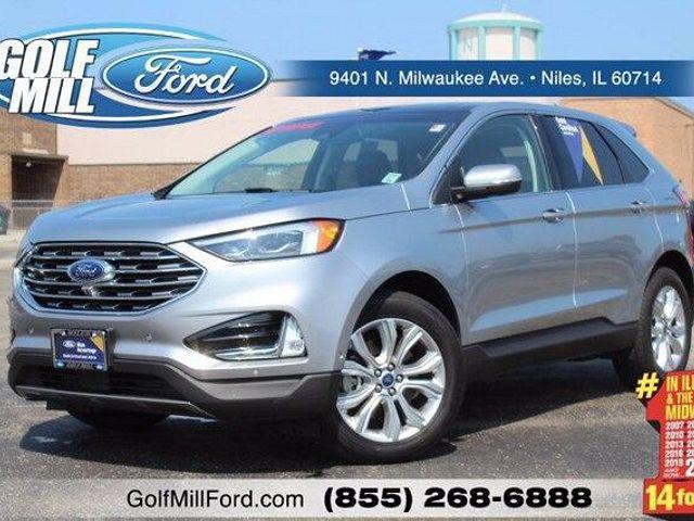 2020 Ford Edge Titanium for sale in Niles, IL