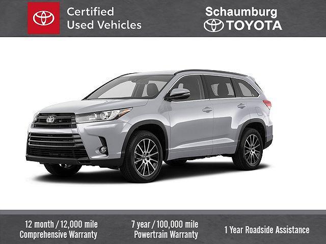 2018 Toyota Highlander SE for sale in Schaumburg, IL