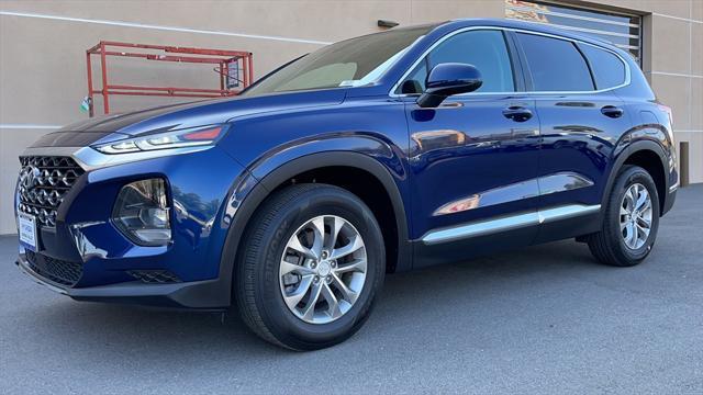 2020 Hyundai Santa Fe SE for sale in MORENO VALLEY, CA