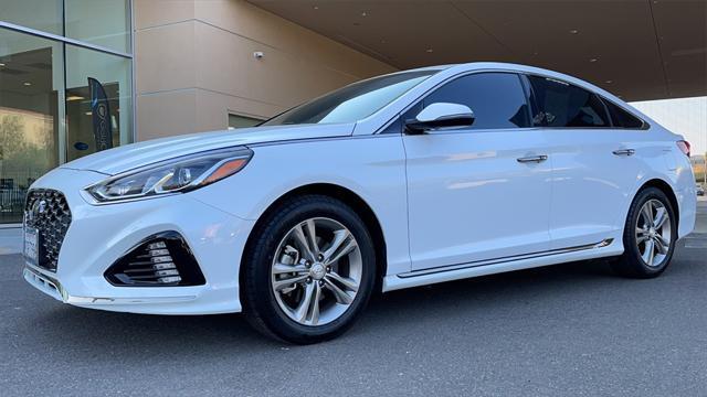 2018 Hyundai Sonata Sport for sale in MORENO VALLEY, CA