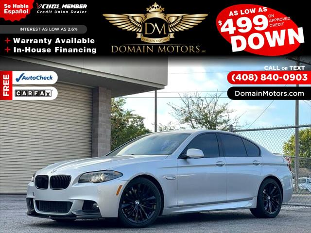 2013 BMW 5 Series 550i for sale in Santa Cruz, CA