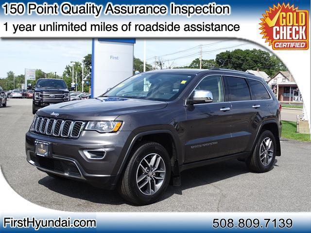 2018 Jeep Grand Cherokee Limited for sale in NORTH ATTLEBORO, MA