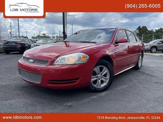 2012 Chevrolet Impala LS Fleet for sale in Jacksonville, FL