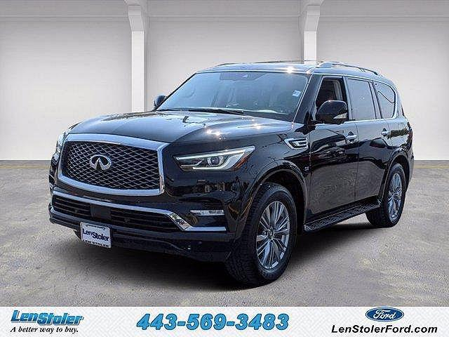 2018 INFINITI QX80 AWD for sale in Owings Mills, MD