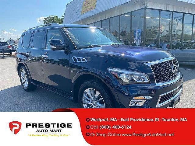 2017 INFINITI QX80 AWD for sale in East Providence, RI
