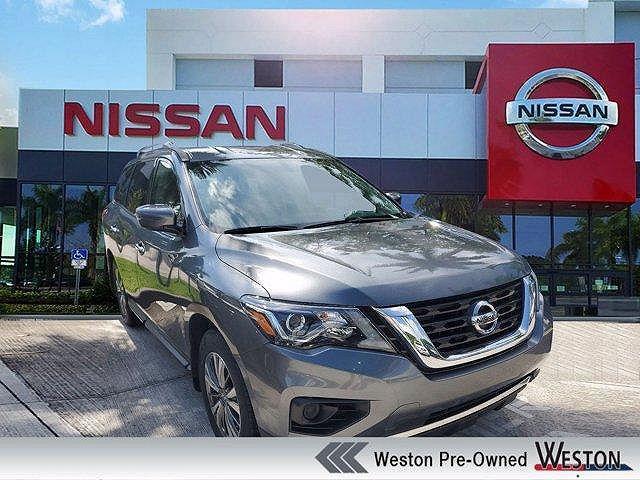 2019 Nissan Pathfinder S for sale in Davie, FL