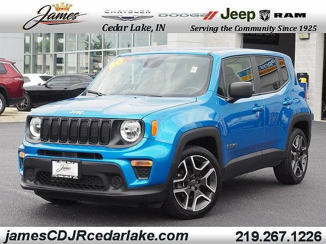 2020 Jeep Renegade Jeepster for sale in Cedar Lake, IN