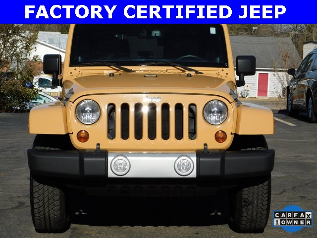 2013 Jeep Wrangler SAHARA 2D Sport Utility Chapel Hill NC