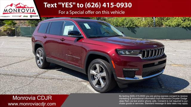 2021 Jeep Grand Cherokee Limited for sale in Monrovia, CA
