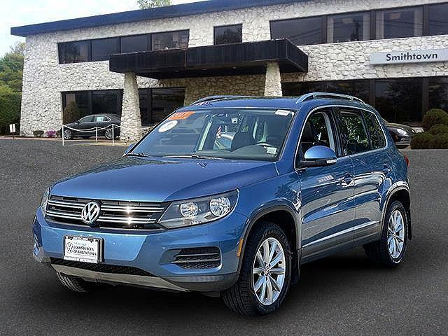 2017 Volkswagen Tiguan Wolfsburg Edition for sale in Saint James, NY