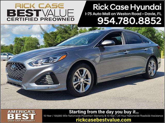 2019 Hyundai Sonata Limited for sale in Davie, FL