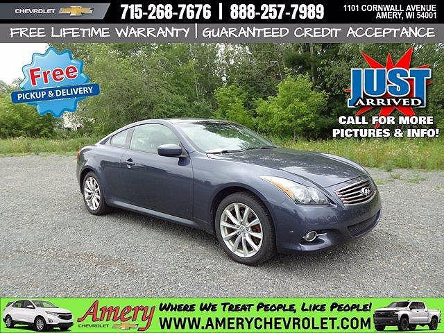 2012 INFINITI G37 Coupe x for sale in Amery, WI