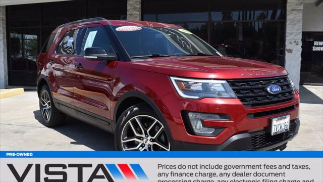 2017 Ford Explorer Sport for sale in Woodland Hills, CA