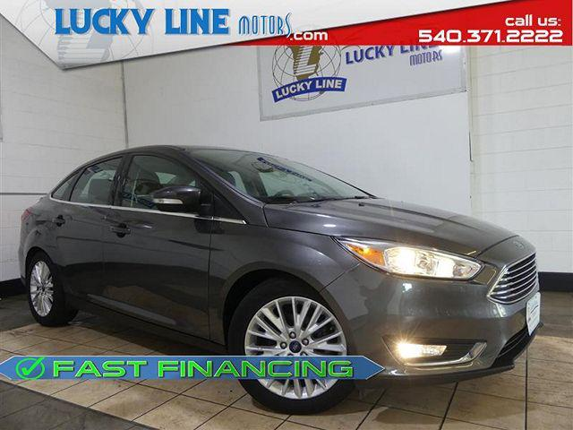 2017 Ford Focus Titanium for sale in Hagerstown, MD